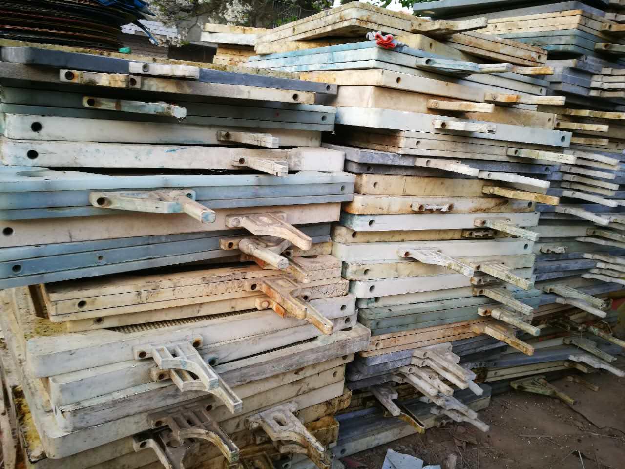 化工厂母料板回收